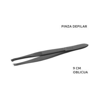 PINZA DEPILAR NEGRA 9 CM RF-02627 OBLI