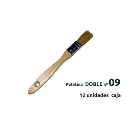 PALETINA DOBLE BARNIZADA Nº 09
