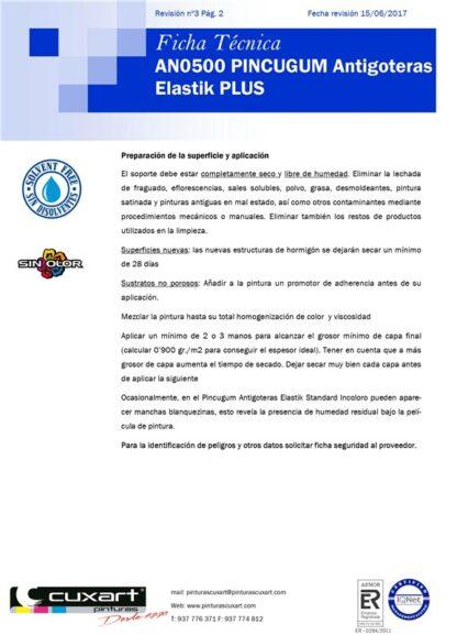 PINTURA ANTIGOTERAS 4L BLANCO PINCUGUM