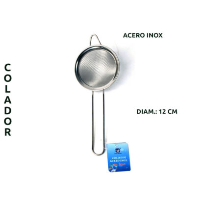 COLADOR ACERO INOX 12CM L-1