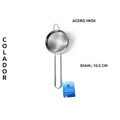COLADOR ACERO INOX 10,5CM L-1