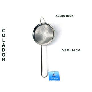 COLADOR ACERO INOX 14CM L-1