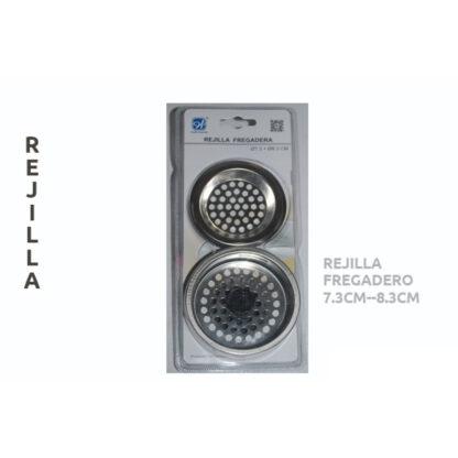 REJILLA FREGADERO 7,3CM + 83MM L-2