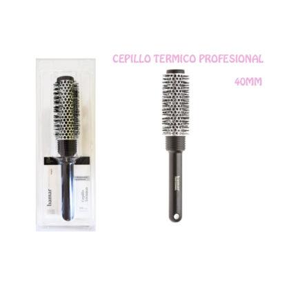 CEPILLO TERMICO 40 mm. NEGRO PROFESIONAL 240.15.02