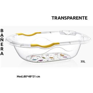 BAÑERA INFANTIL TRANSPARENTE CM-216
