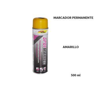 MARCADOR OBRA PERMANENTE AMARILLO 360º 500 ml